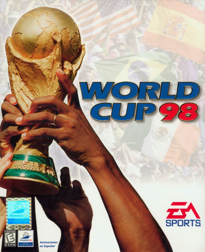 World Cup 98 Windows Front Cover