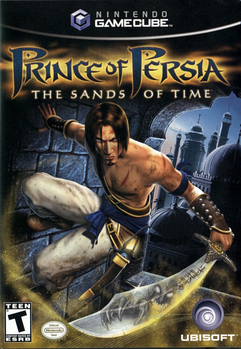 Prince of Persia: The Sands of Time GameCube Front Cover