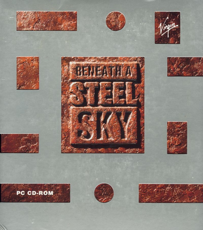 Beneath a Steel Sky DOS Front Cover
