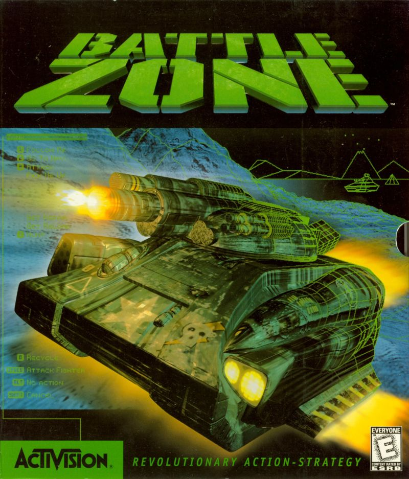 Battlezone Windows Front Cover