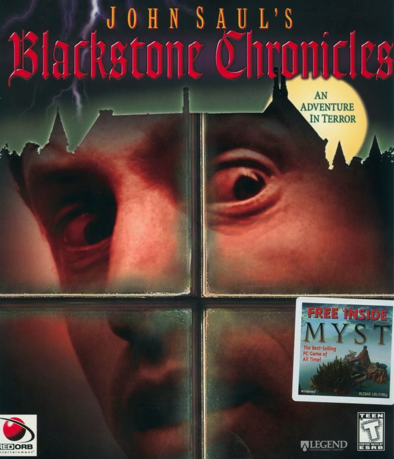 John Saul's Blackstone Chronicles: An Adventure in Terror Windows Front Cover