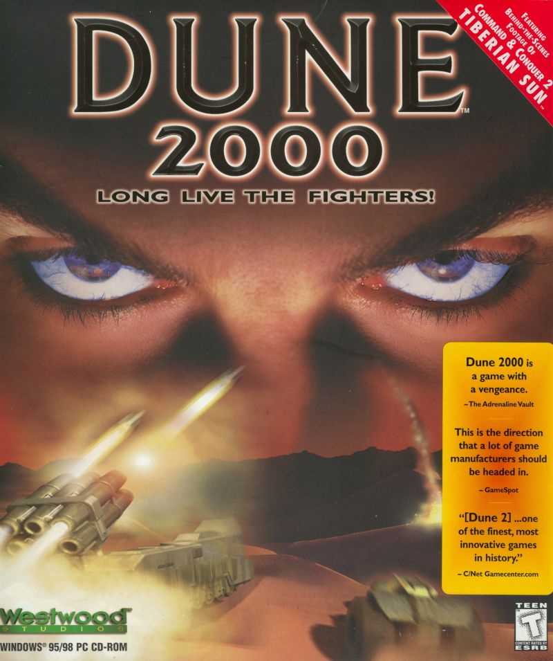 Dune 2000 Windows Front Cover