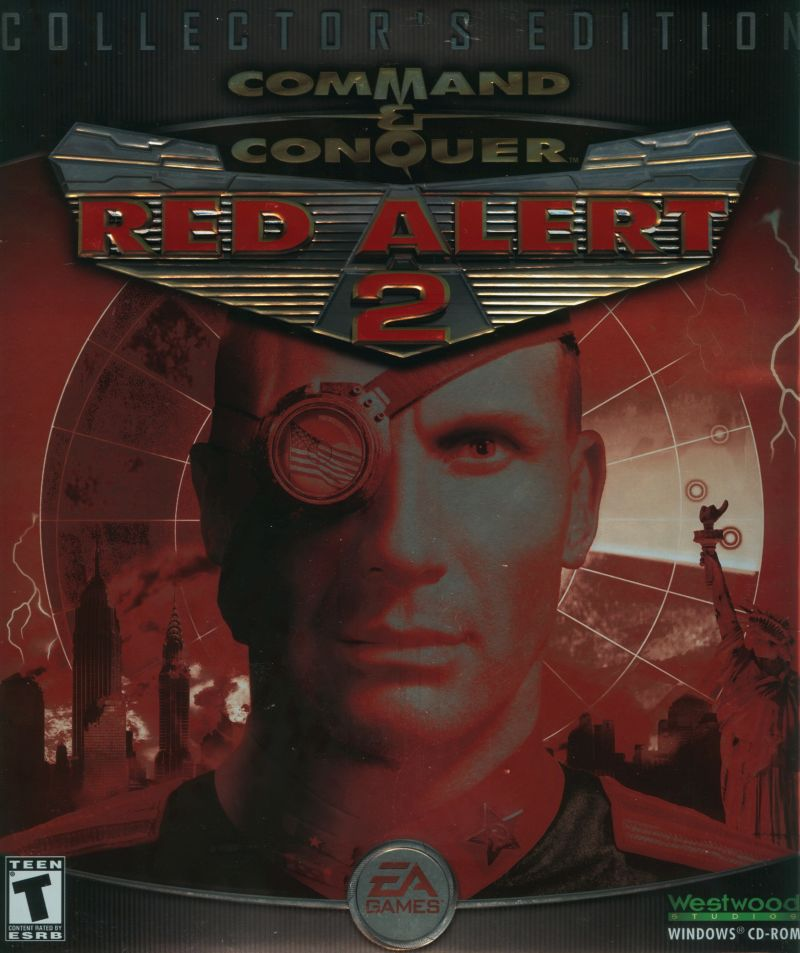 Command & Conquer: Red Alert 2 (Collector's Edition) Windows Front Cover