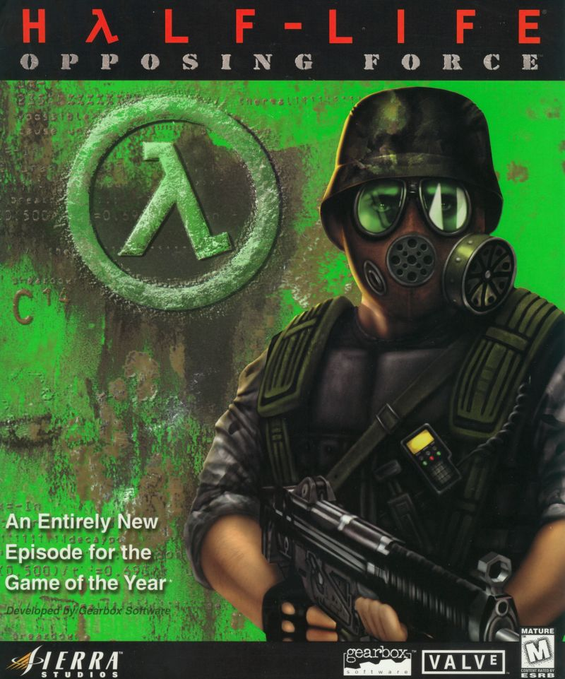 Half-Life: Opposing Force Windows Front Cover