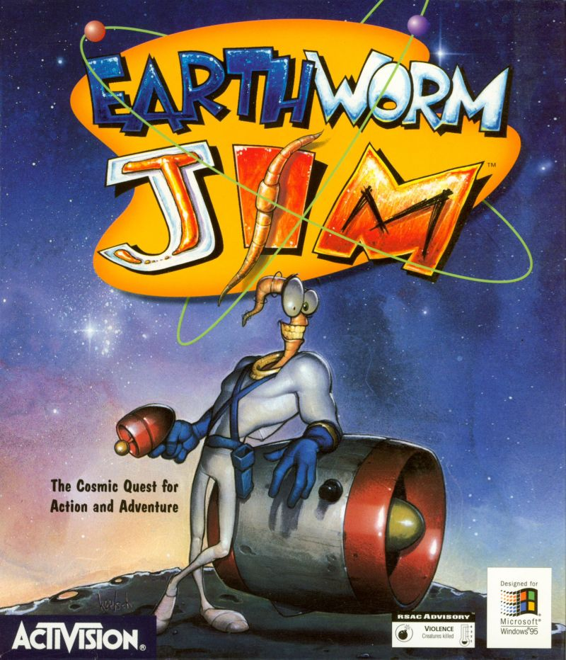Earthworm Jim: Special Edition Windows Front Cover