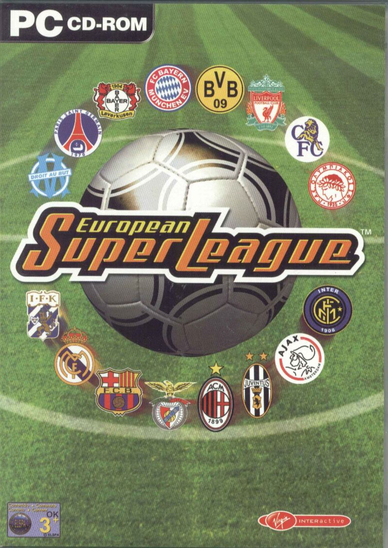 European Super League Windows Front Cover