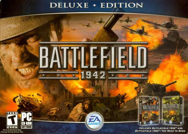 Battlefield 1942 (Deluxe Edition) Windows Front Cover