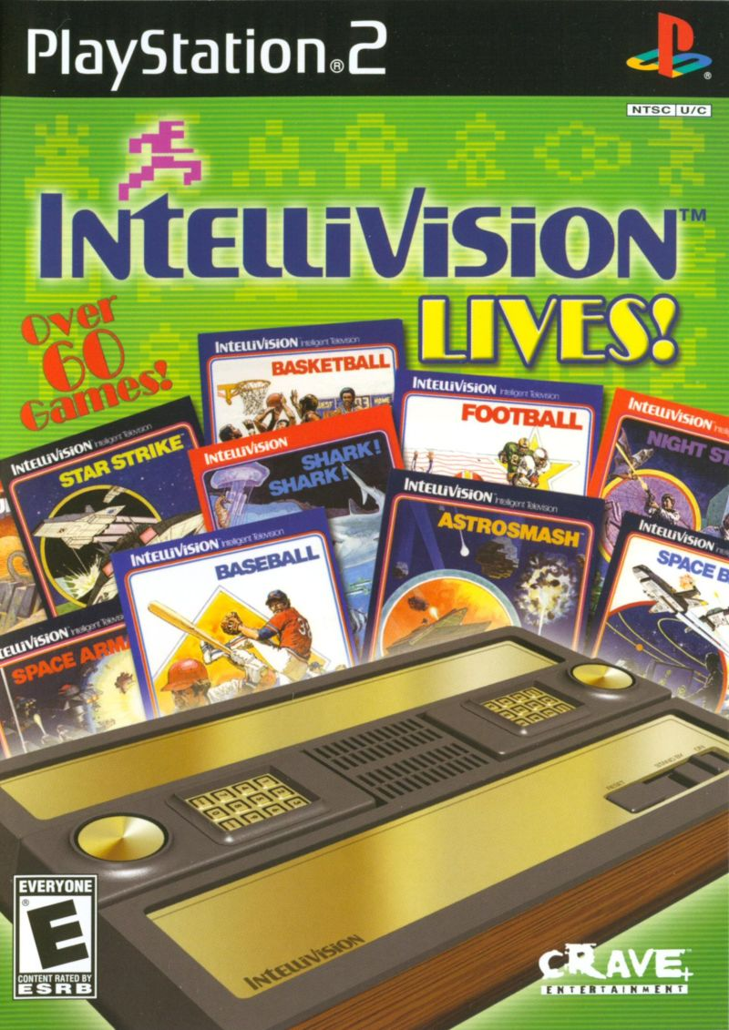 Intellivision Lives! PlayStation 2 Front Cover
