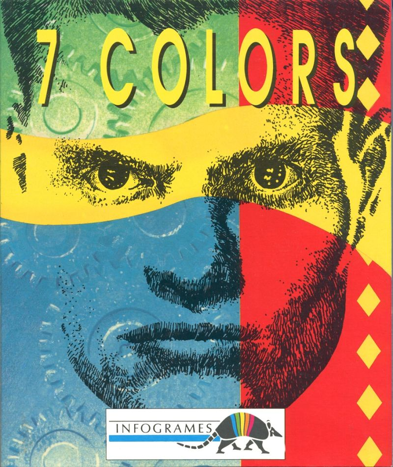 7 Colors DOS Front Cover