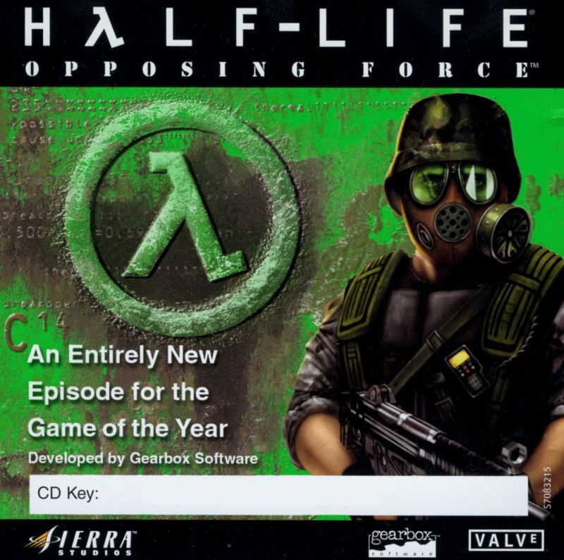 Half-Life: Opposing Force Windows Other Jewel Case - Front