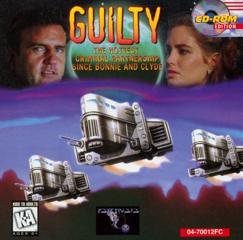 Guilty DOS Other Jewel Case - Front