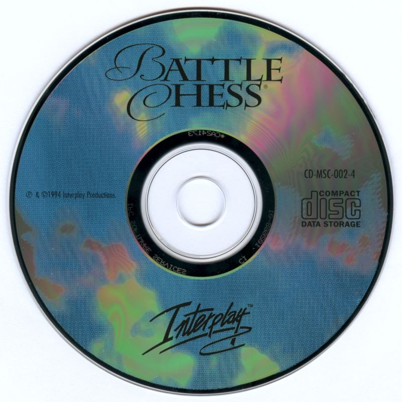 Battle Chess Enhanced CD ROM DOS Media