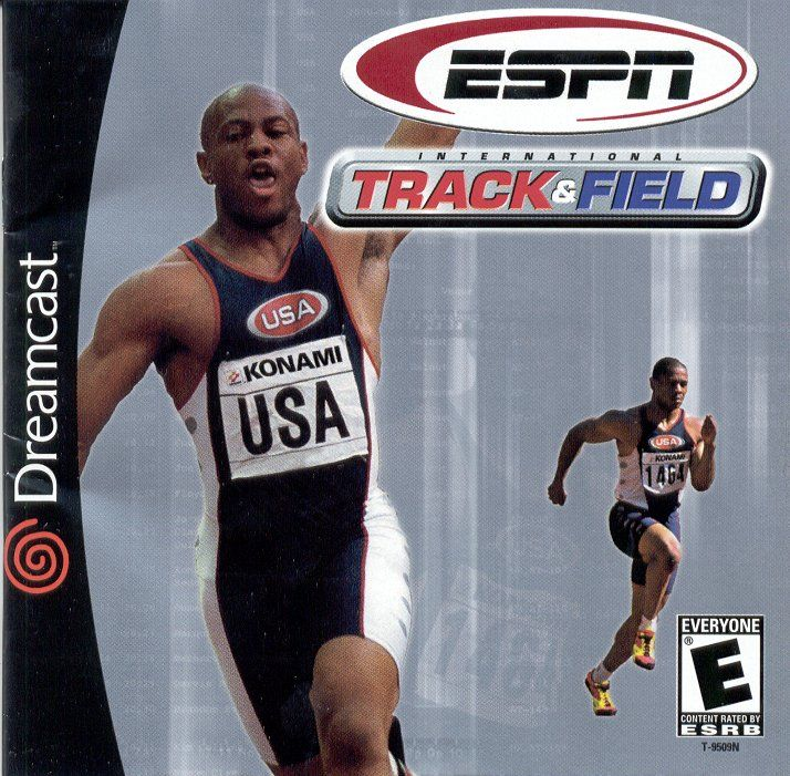 ESPN International Track & Field Dreamcast Front Cover
