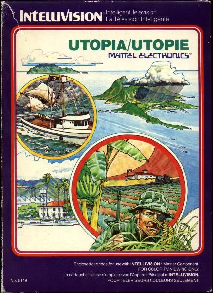 Utopia Intellivision Front Cover