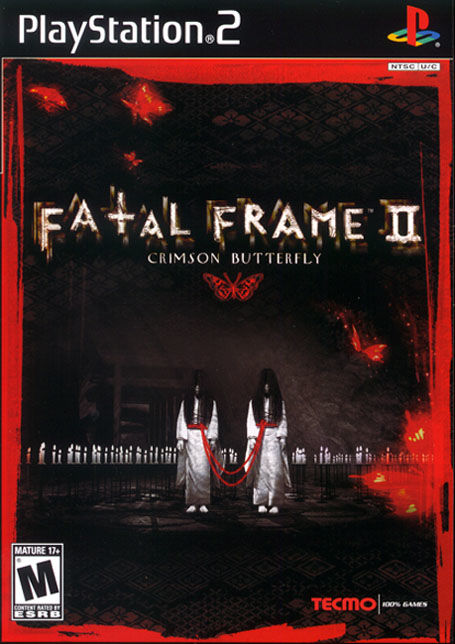 Fatal Frame II: Crimson Butterfly PlayStation 2 Front Cover