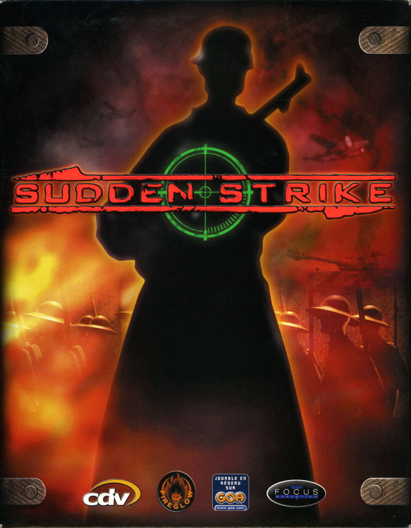 Sudden Strike Windows Front Cover
