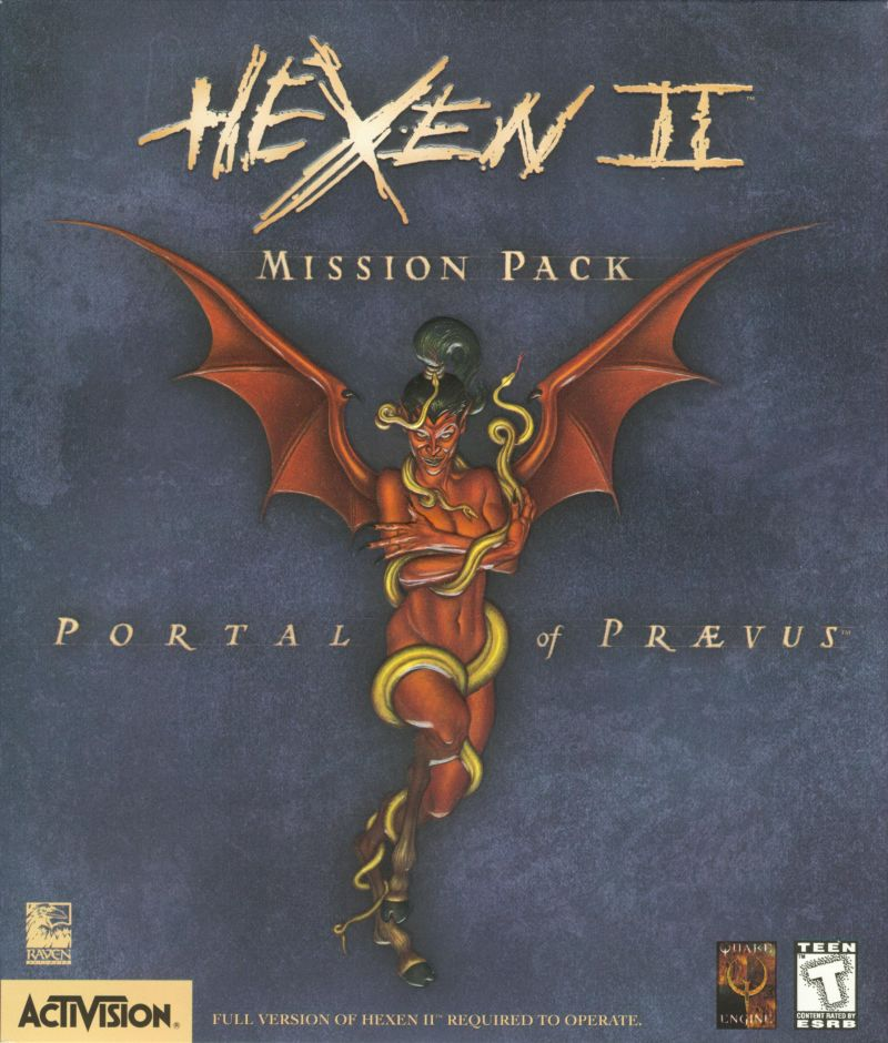 Hexen II: Mission Pack: Portal of Praevus Windows Front Cover
