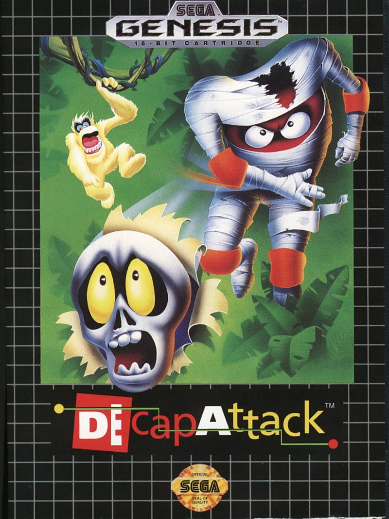 DEcapAttack Genesis Front Cover