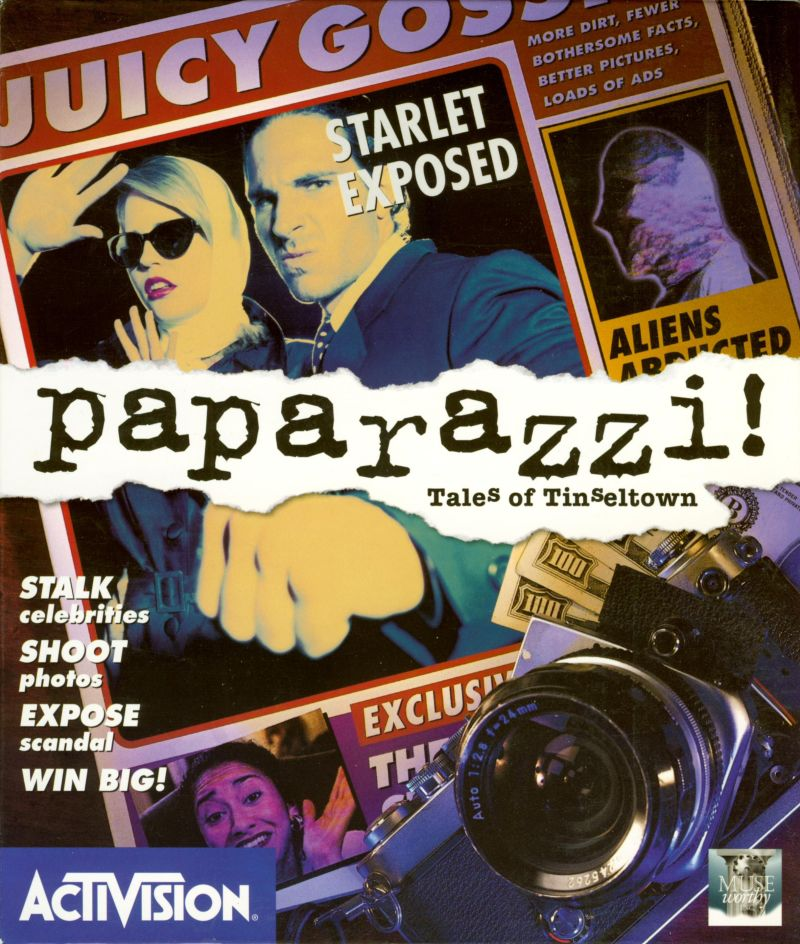 Paparazzi!: Tales of Tinseltown DOS Front Cover