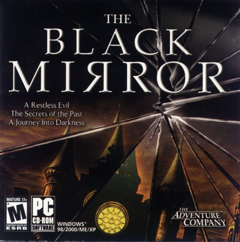 The Black Mirror Windows Other Jewel Case - Front