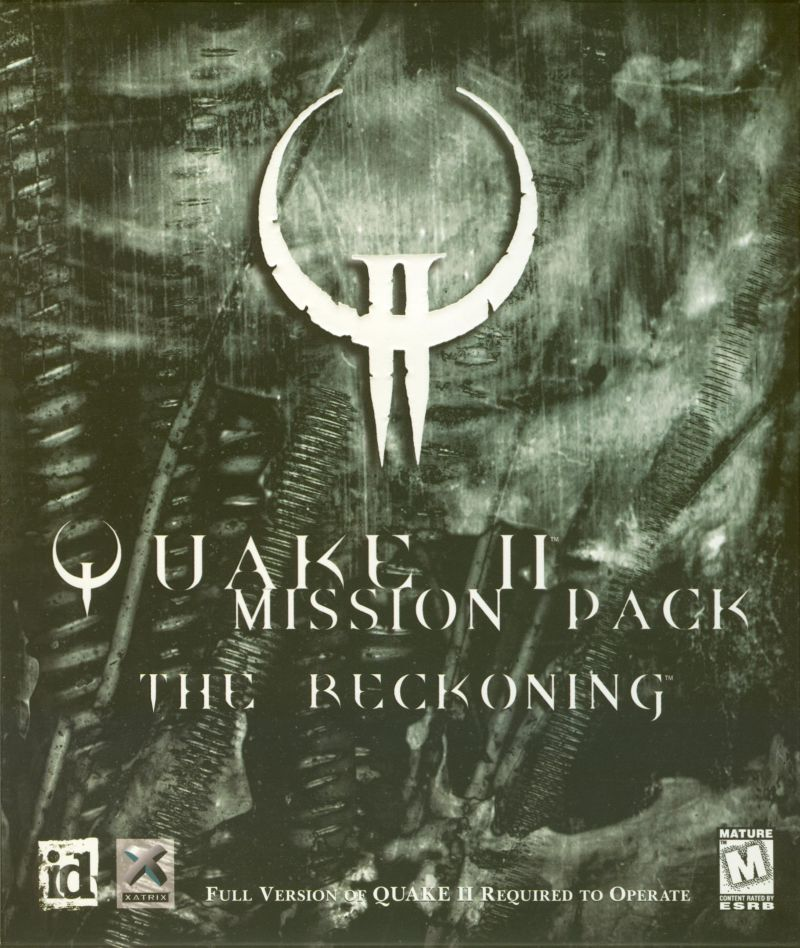 Quake II Mission Pack: The Reckoning Windows Front Cover
