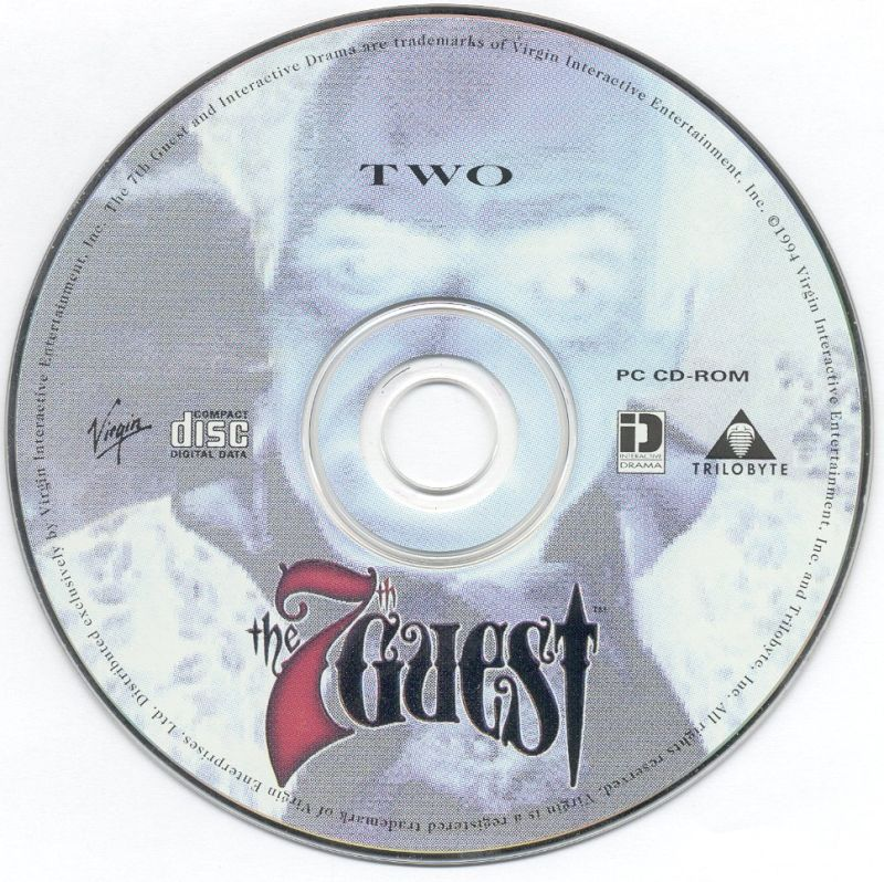 The 7th Guest DOS Media Disc 2