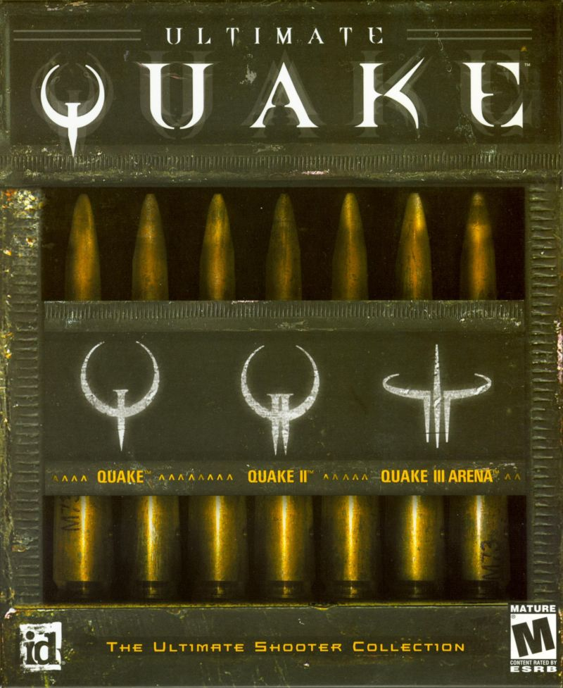 Ultimate Quake Windows Front Cover