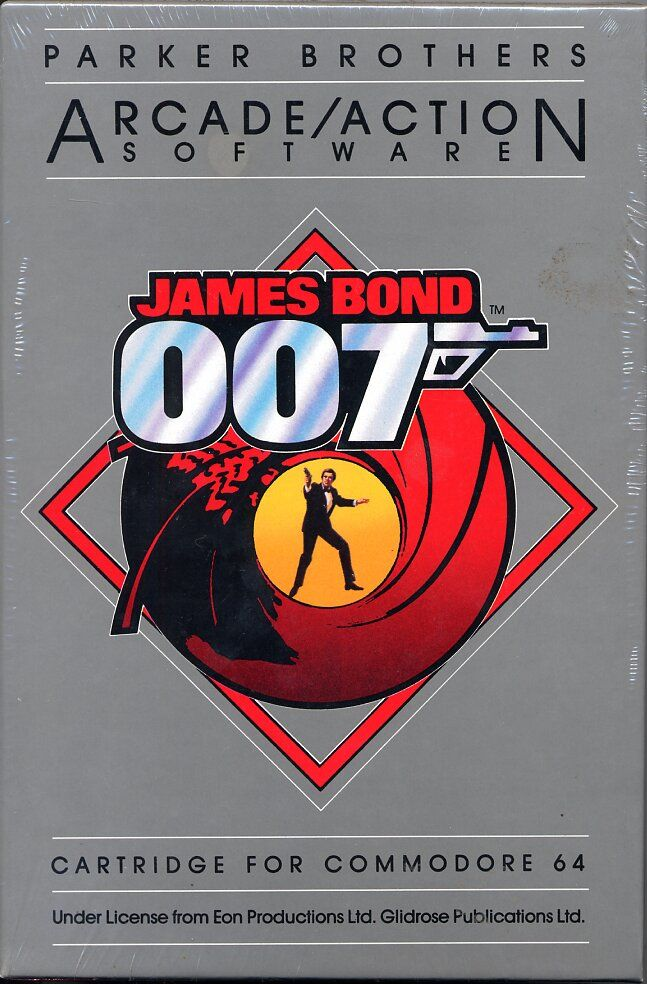 James Bond 007 Commodore 64 Front Cover