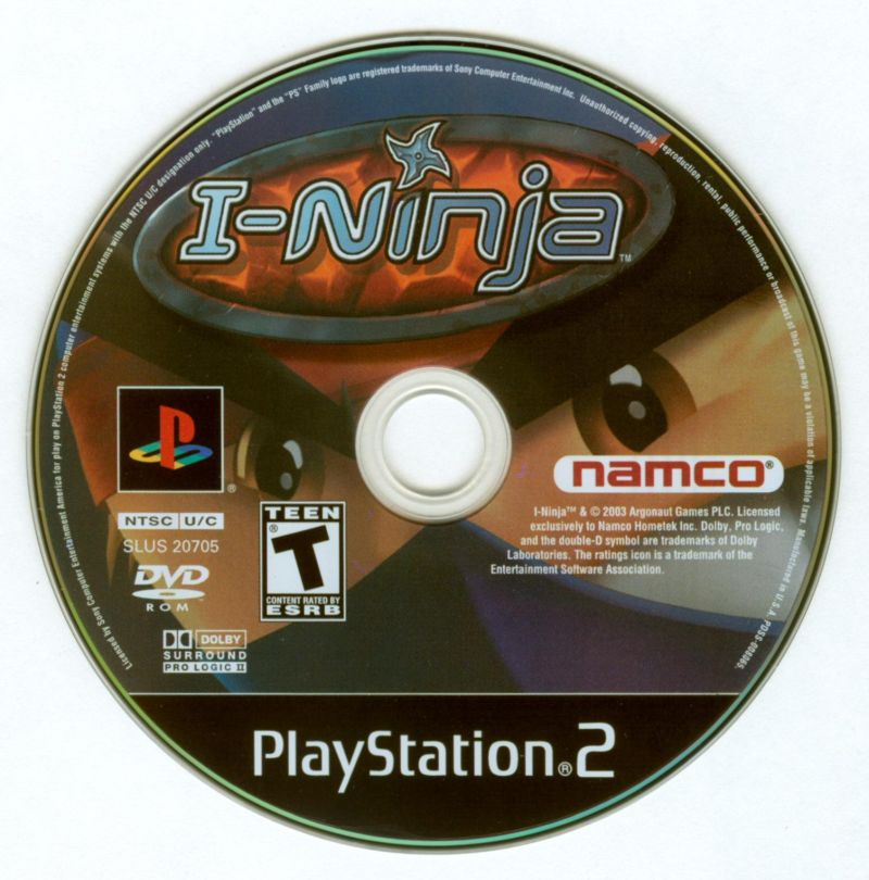 I-Ninja PlayStation 2 Media