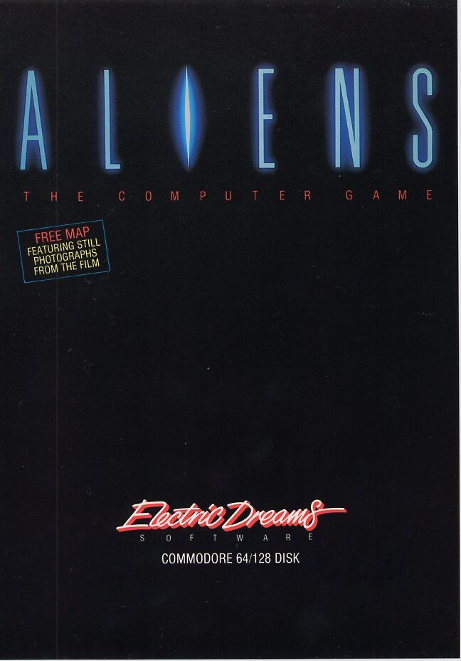 Aliens Commodore 64 Front Cover