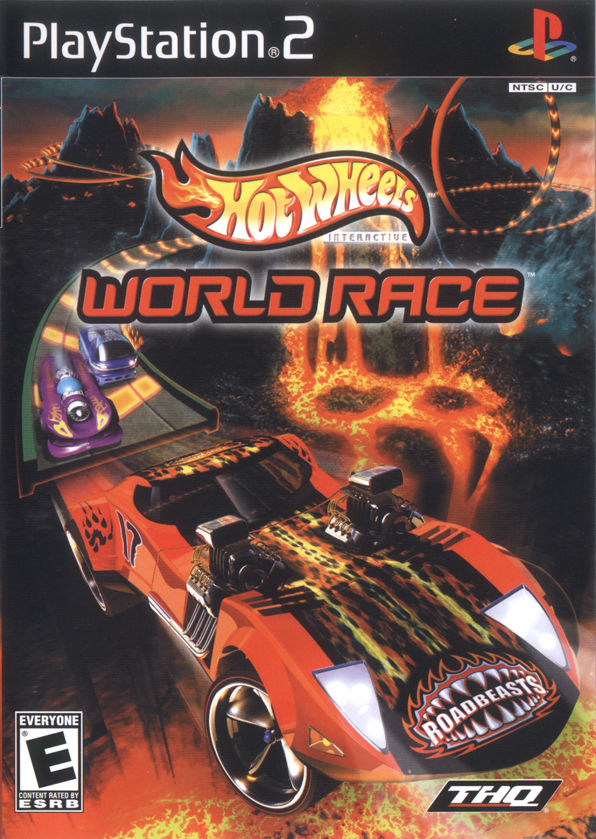 Hot Wheels: World Race PlayStation 2 Front Cover