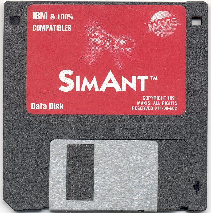 SimAnt: The Electronic Ant Colony DOS Media Alternate Data Disk