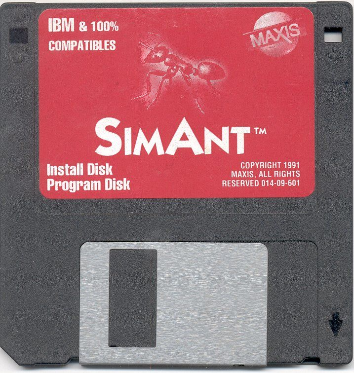 SimAnt: The Electronic Ant Colony DOS Media Alternate Install / Program Disk