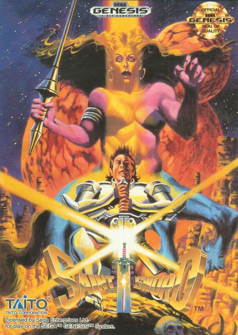 Saint Sword Genesis Front Cover