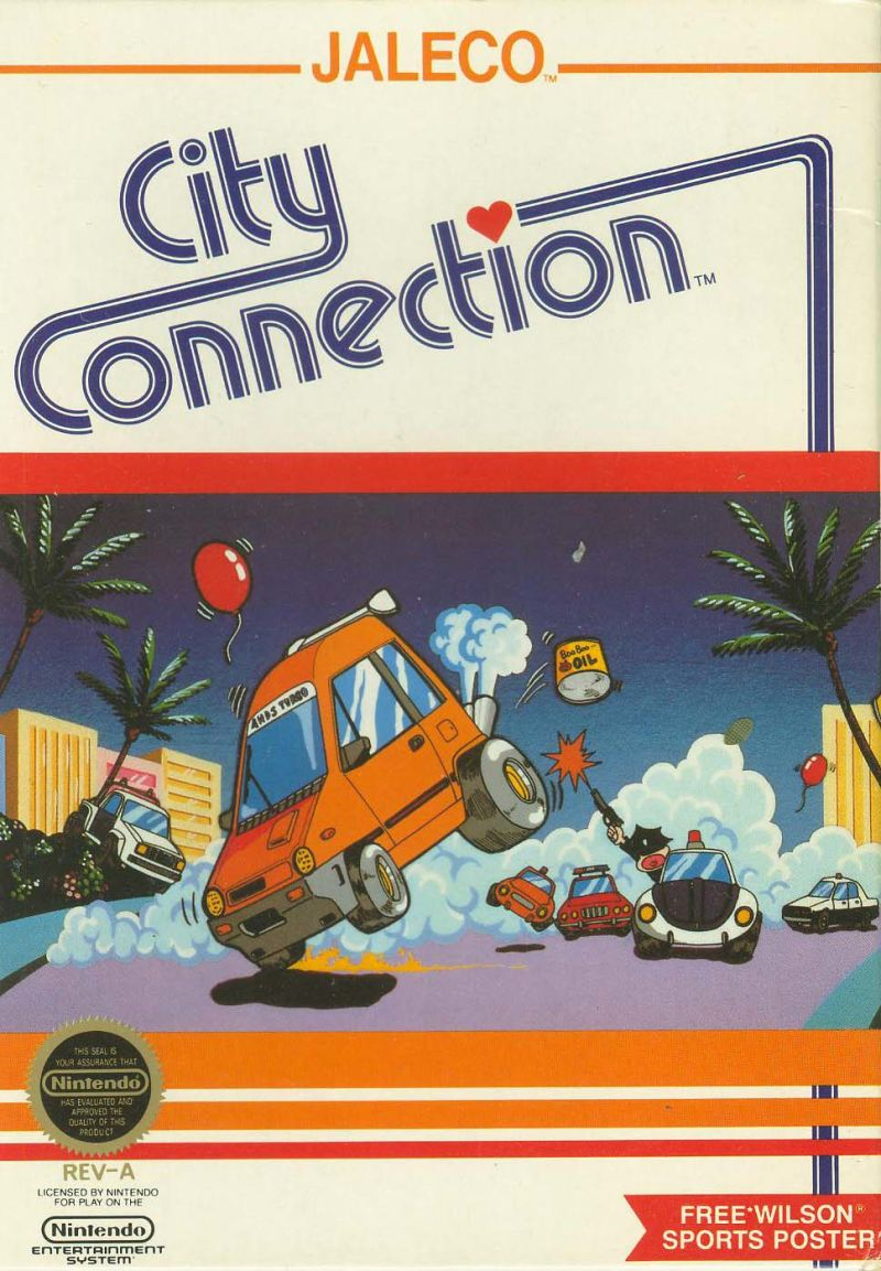 City Connection NES Front Cover