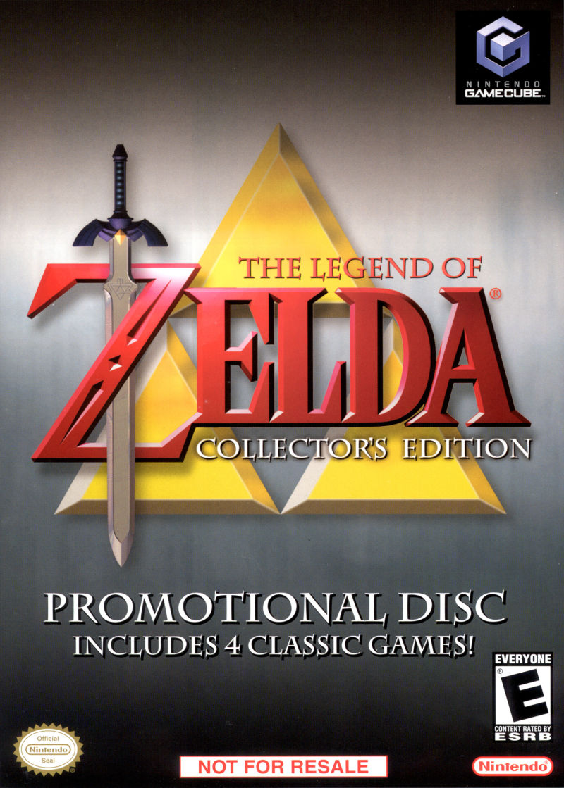 The Legend of Zelda: Collector's Edition GameCube Front Cover