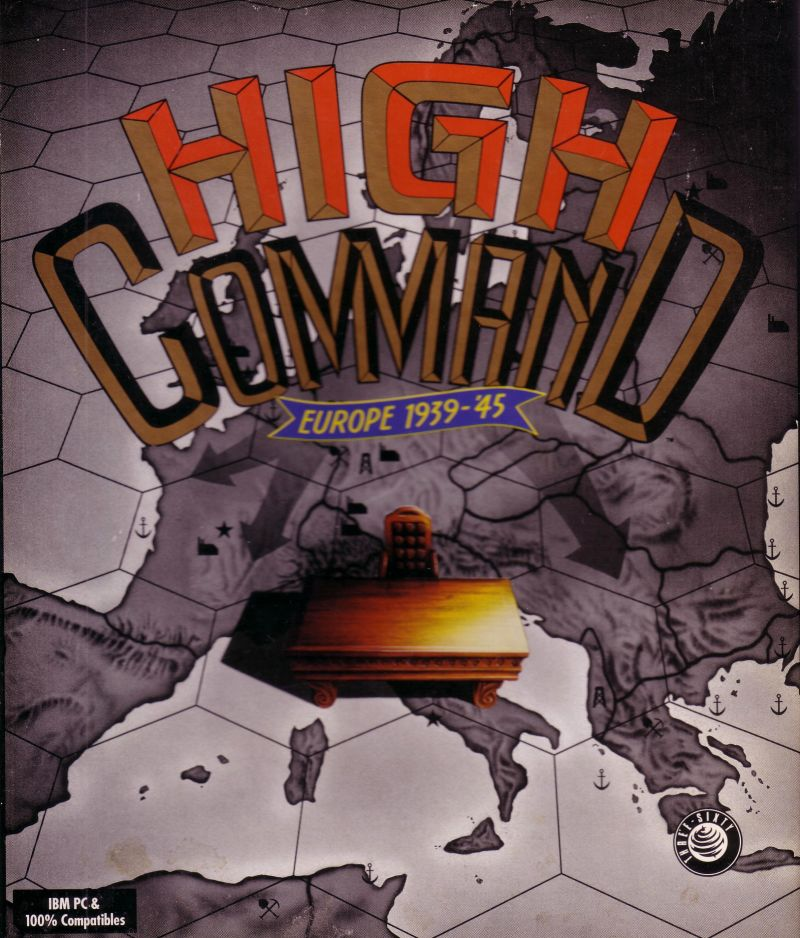High Command: Europe 1939-'45 DOS Front Cover