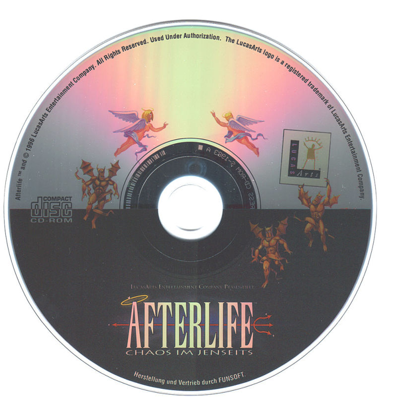 Afterlife DOS Media