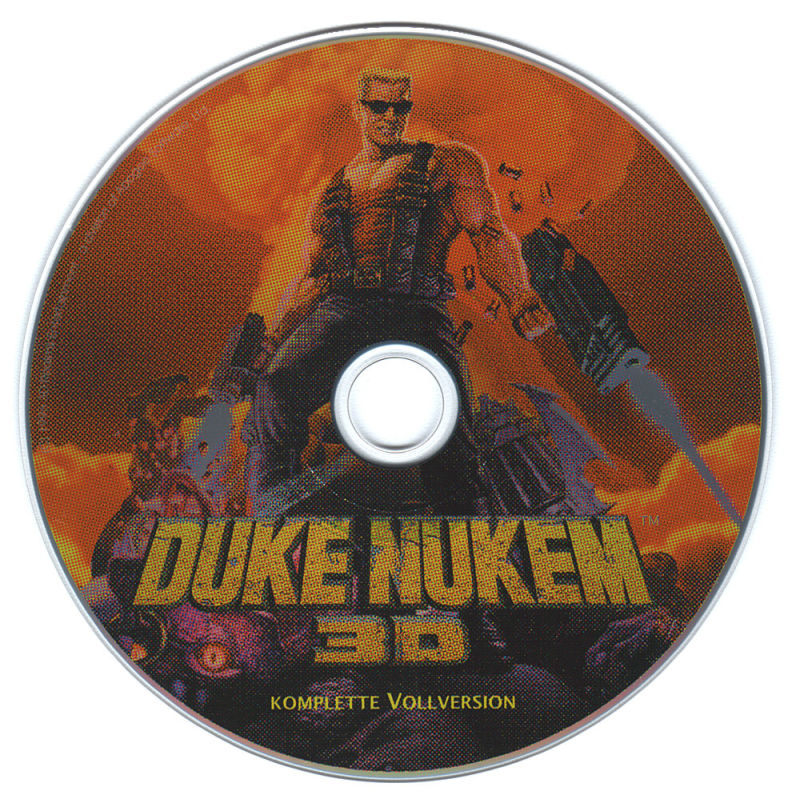 Duke Nukem 3D DOS Media