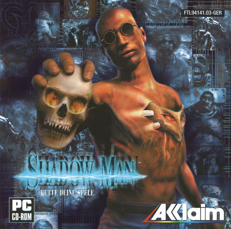 Shadow Man Windows Other Jewel Case - Front