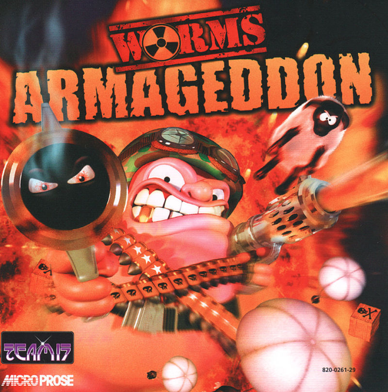 Worms Armageddon Dreamcast Front Cover