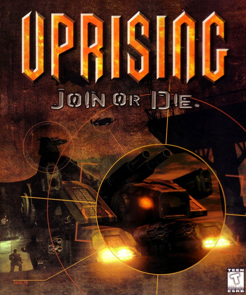 Uprising: Join or Die Windows Front Cover