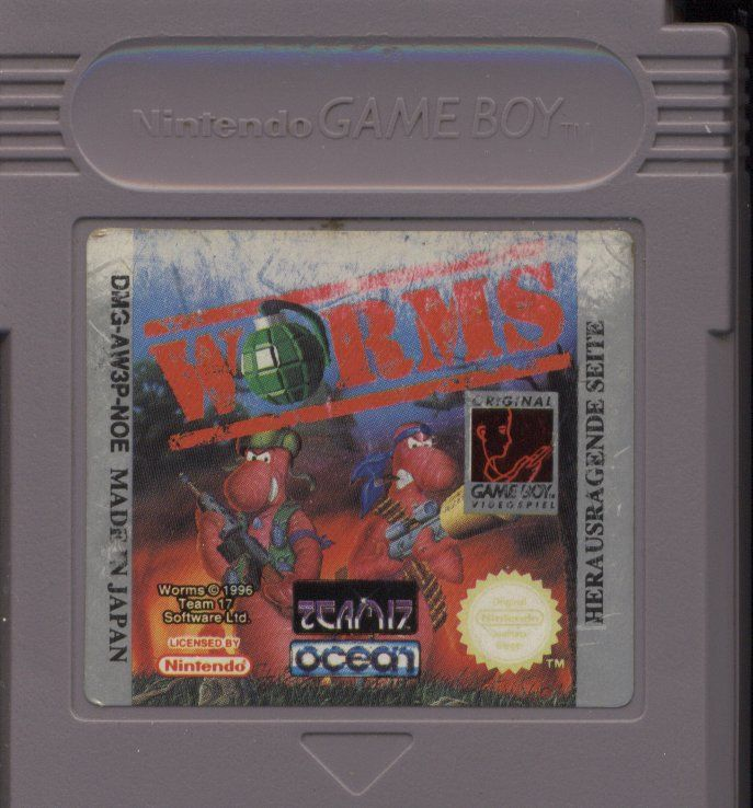 Worms Game Boy Media