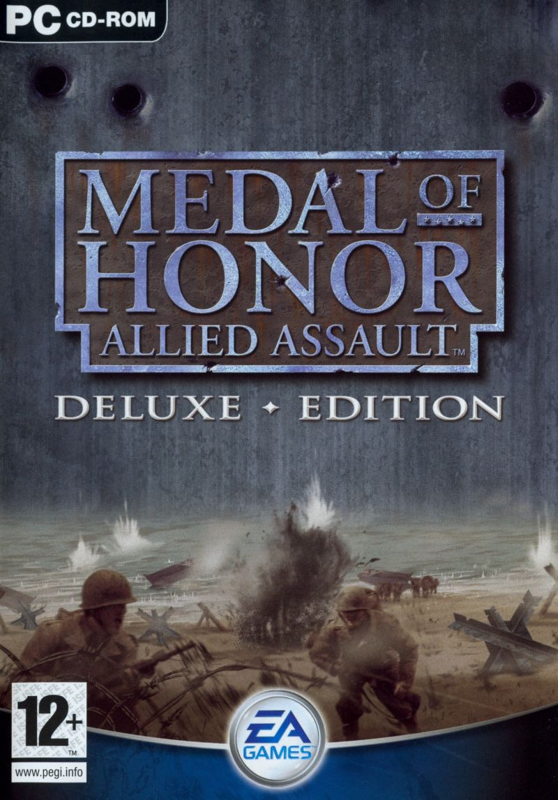 Medal of Honor: Allied Assault - Deluxe ♦ Edition Windows Front Cover