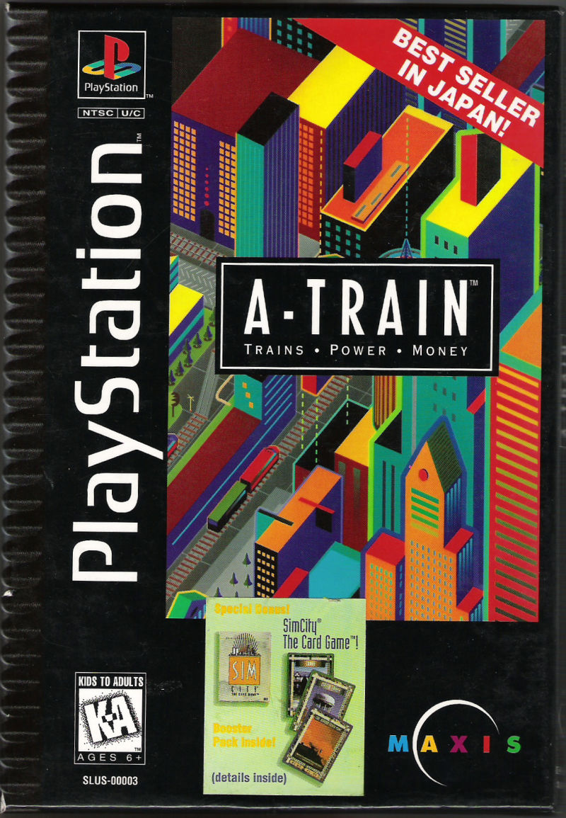 A-Train PlayStation Front Cover