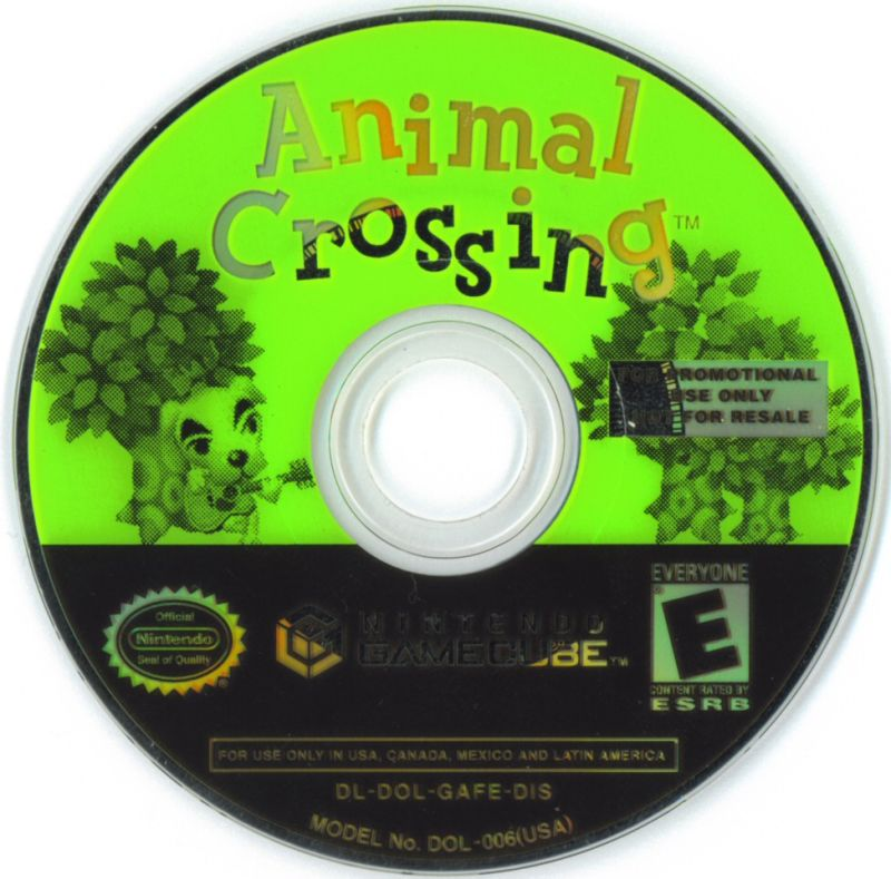 Animal Crossing GameCube Media