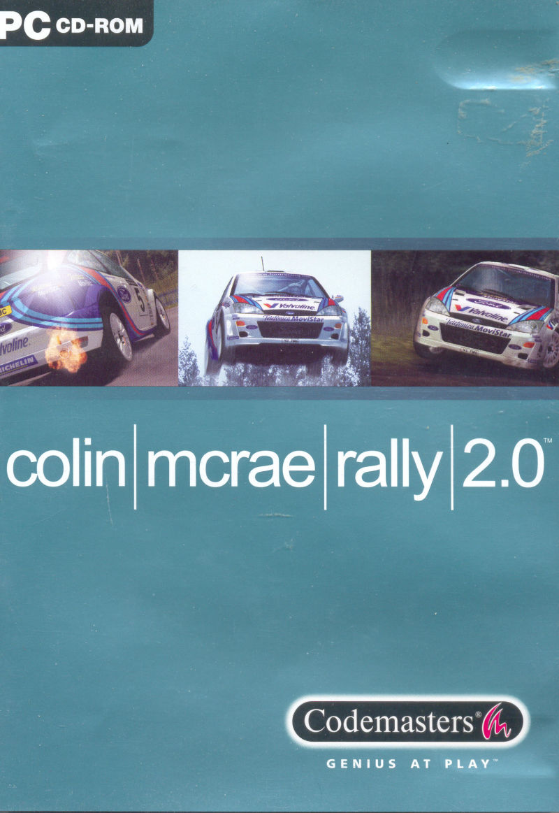 Colin McRae Rally 2.0 Windows Front Cover