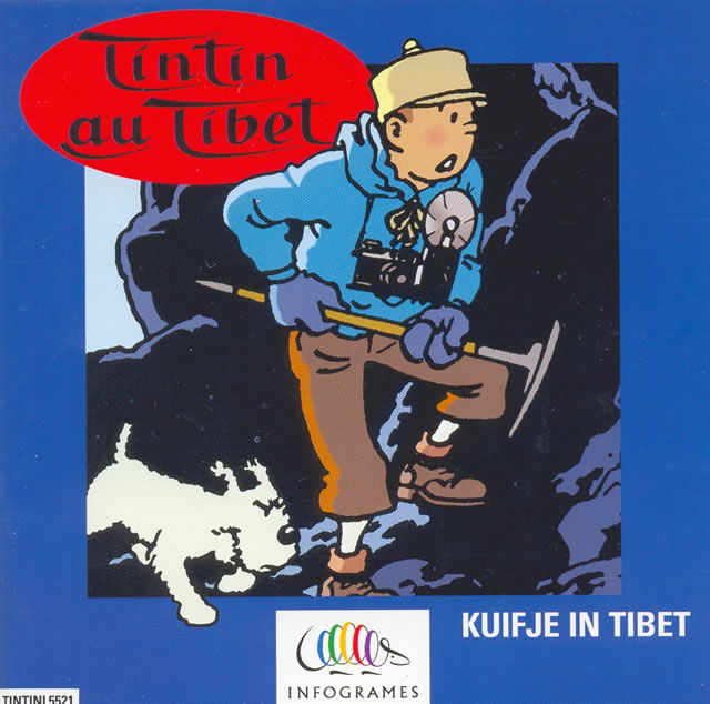 Tintin in Tibet DOS Other Jewel Case - Front