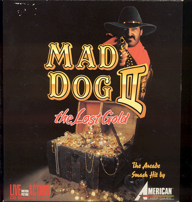 Mad Dog II: The Lost Gold DOS Front Cover