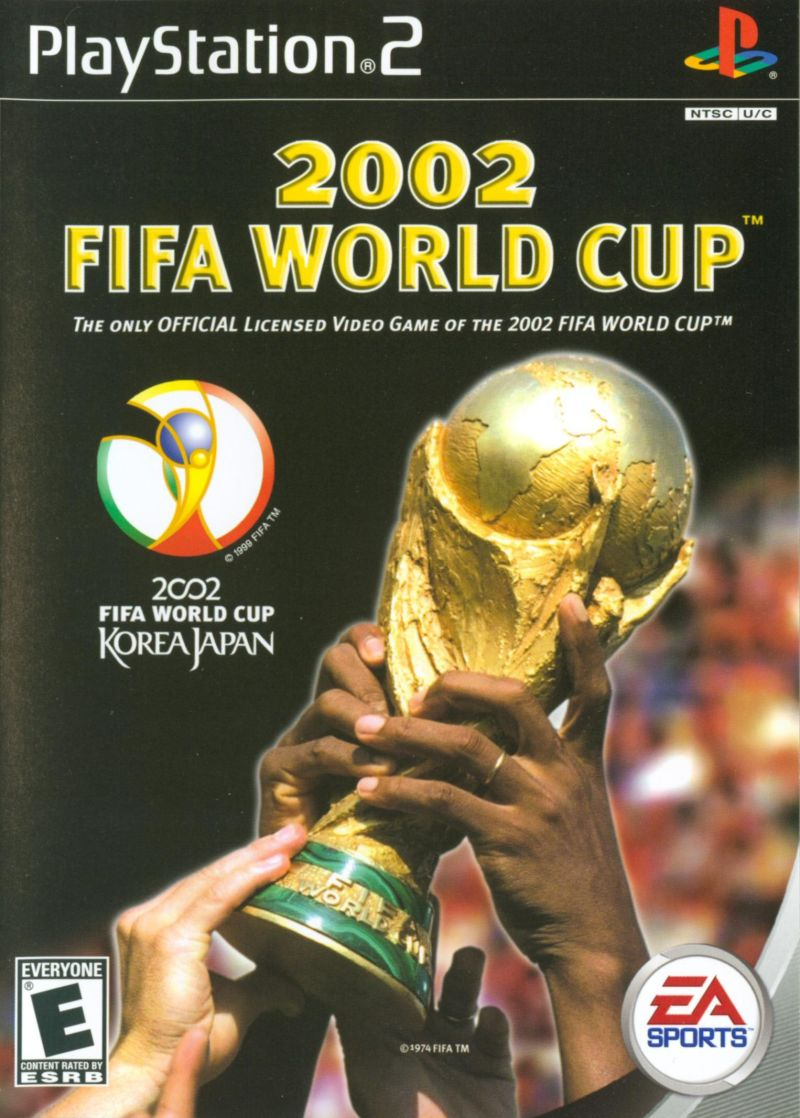 2002 FIFA World Cup PlayStation 2 Front Cover